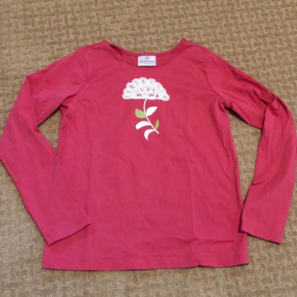 Hanna Andersson Other - Euc Hanna tee with beautiful lace detail! Size 140